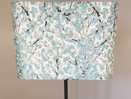New washi paper table lamps