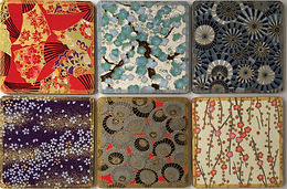Drinks coasters washi paper