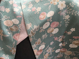 Kimono silk scarves