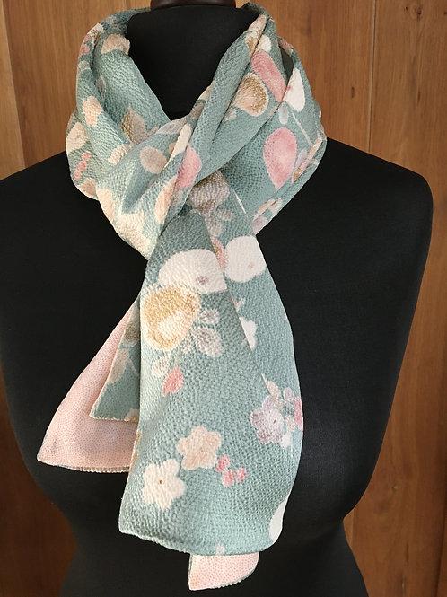 Long silk kimono scarf - limited edition