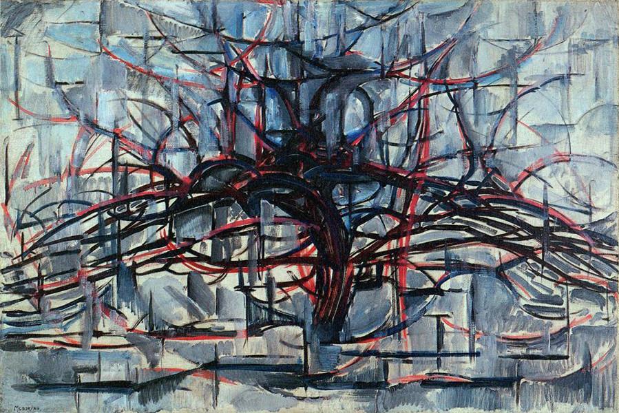 "Piet Mondrian - ""Albero orizzontale"" (1911)"