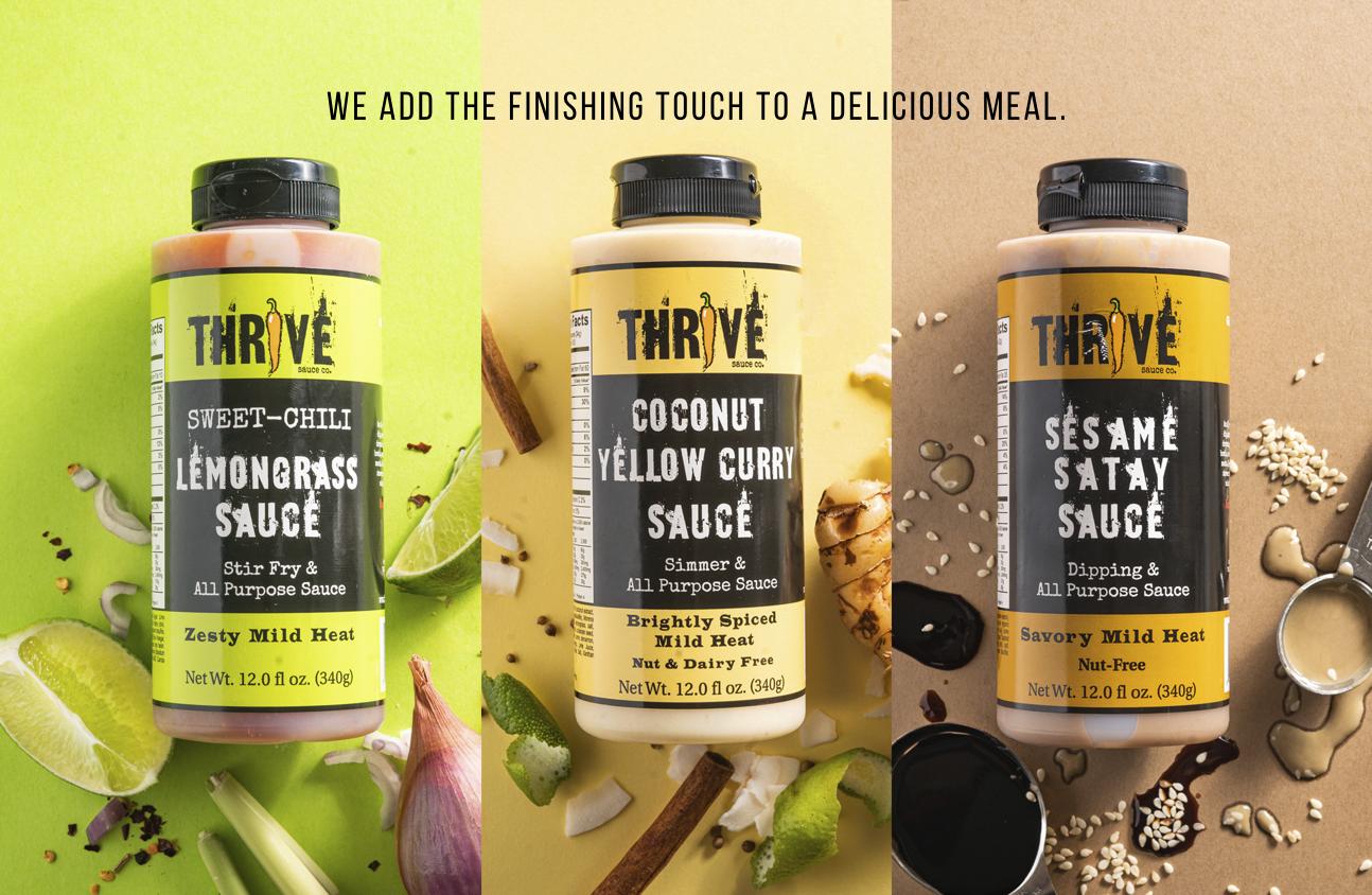 Thrive Asian Sauce AD