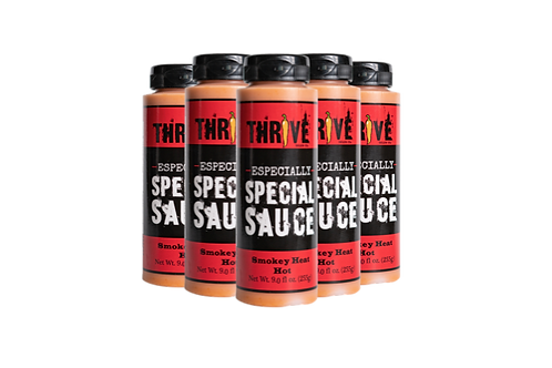 Thrive Sauce Co Special Six Pack | Special Sauce, Extra Special Sauce, Especially Special Sauce | All Purpose Condiment