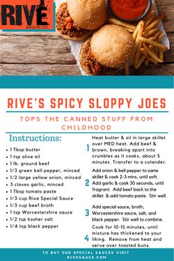 Rive Sloppy Joes