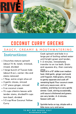 Coconut Curry Greens