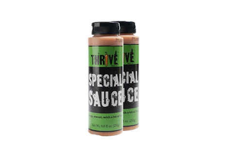Thrive Sauce Co Special Two Pack | Special Sauce, Extra Special Sauce, Especially Special Sauce | All Purpose Condiment