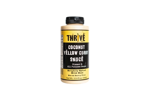 Thrive Sauce Co | Coconut Yellow Curry | Coconut Yellow Curry Sauce Vegan Gluten Free Nut Free