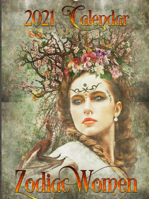 2021 Zodiac Women Calendar (A3)