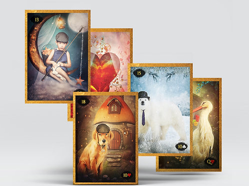Limited Edition - Lenormand of Enchantment- PRE-ORDER