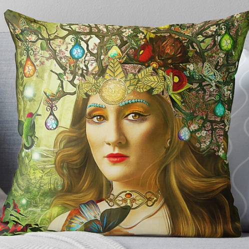 Queens of Tarot Cushion Cover