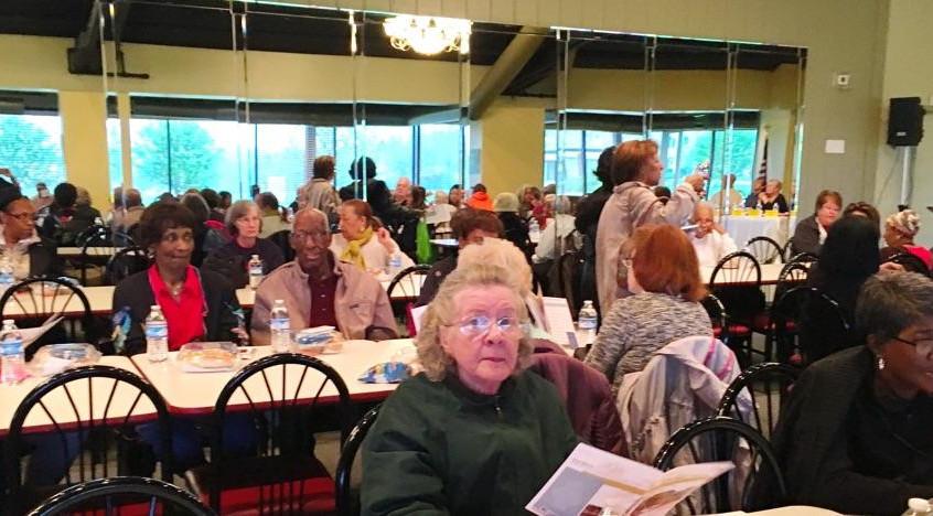 people at annual cedarwood meeting