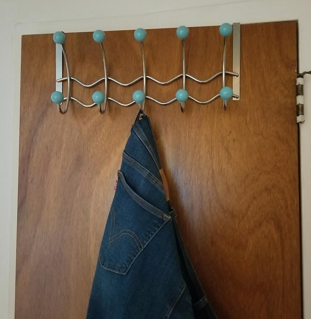 door hanger over co-op closet door