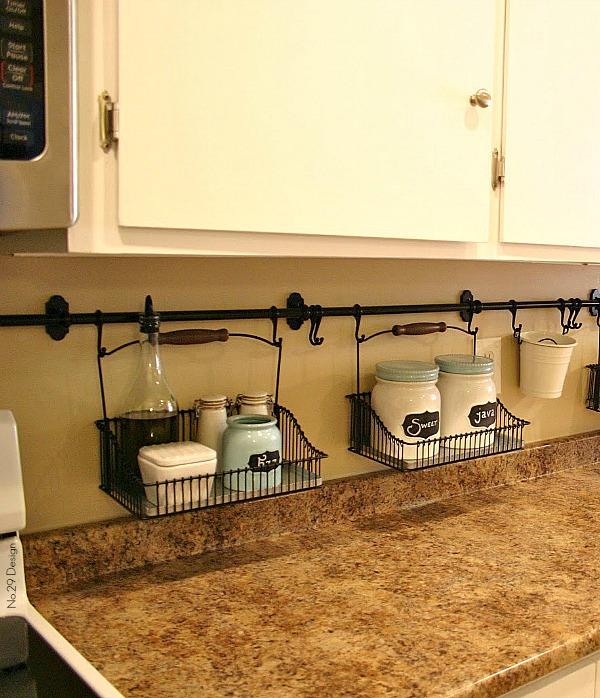 Storage Ideas For Small Kitchen Spaces