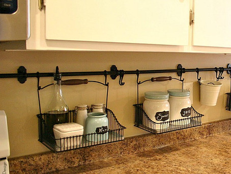 Storage Ideas for Small Kitchen Spaces