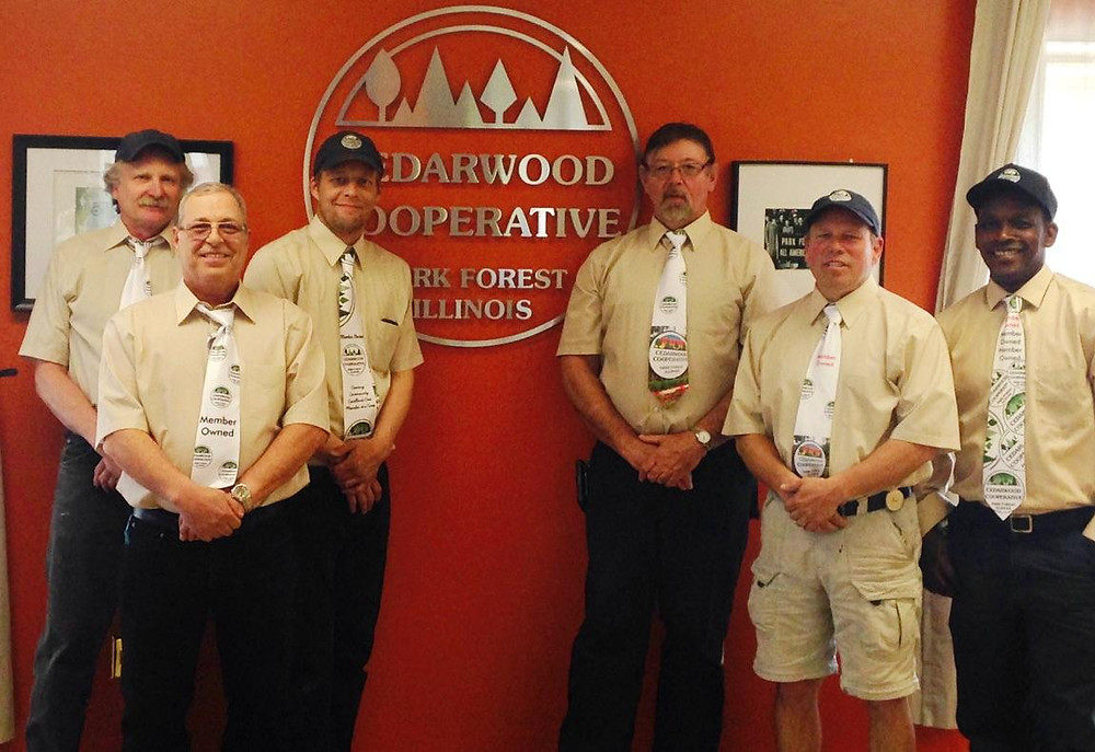 maintenance men for cedarwood