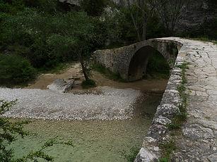 Sierra des Guara, rio vero, Pont Villacantal