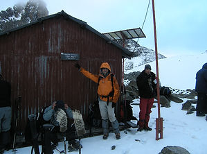 Top Hut, Mont-Kenya,