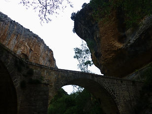 Pont Villacantal, Rio Vero, Sierra de Guara