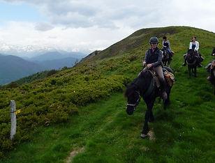 Merens, randonnée équestre, Ariège, cavalus