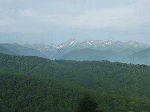 Mont-Valier, vue à 20 kms