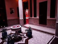 Maroc, Marrakech, Riad Bahia Salam