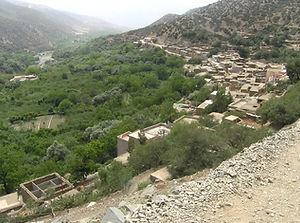 Maroc, Atlas, Tassa Ouirgane