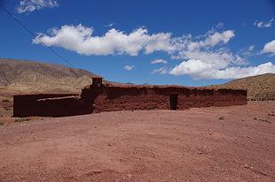 Maroc, Haut-Atlas, Habitat Berbère