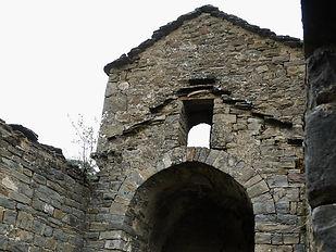 Santa Maria de Belsué, sierra de guara, espagne