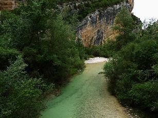 Sierra des Guara, rio vero