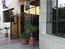 Maroc, Marrakech, Hotel Meriem
