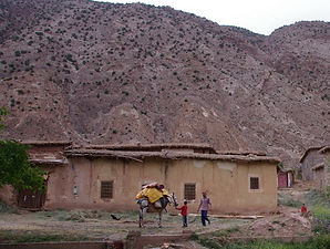 Aït Bougmez, Agouti, Maroc, Atlas
