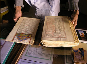 Bibliothèque, Chinguetti, Adrar, Mauritanie