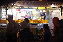 Maroc, Marrakech, Jemaa El Fna