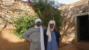 mahmoud et Mohamed Mahmoud, auberge Eden, Chinguetti
