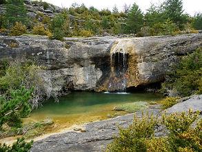 Cascade barranco de Abellada