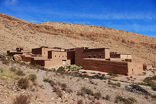 Maroc, Aïfa, Haut-Atlas, vallée des roses
