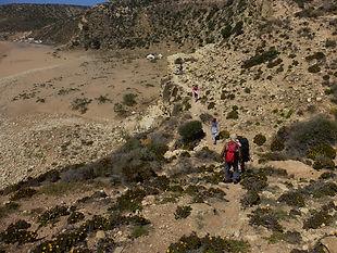 Maroc, Essaouira, randonnée, Sidi kaouki, marche, océan