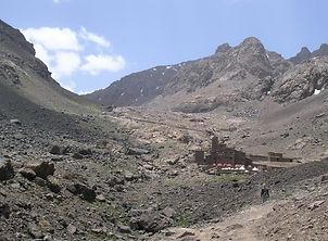 refuge du Toubkal, atlas, maroc