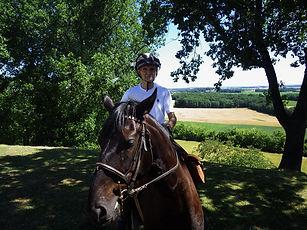 Jacques BAYSSET, Randonnée Equestre Lot et Garonne