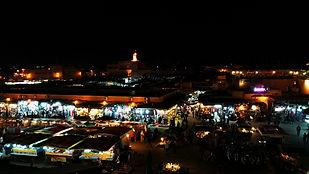 Marrakech, Café de France, Jema El Fnaa