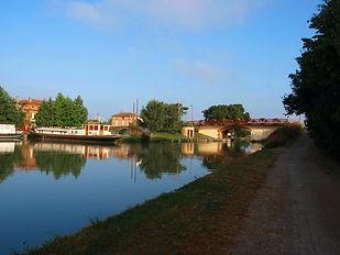 Port de Castelsarrasin, canal de garonne