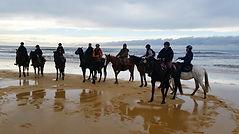 Michel Mille, Mimizan, Randonnée Equestre, Landes, Aquitaine, Centre Equestre, Marina