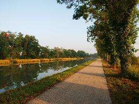 Randonnée, canal garonne