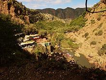 Maroc,  Cascades d'Ouzoud