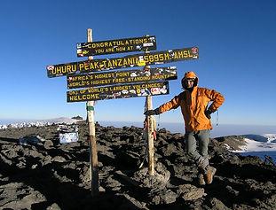 Kilimanjaro, Uhuru Peak