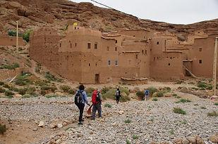 Maroc, Haut-Atlas, Vallée des Roses, Agoulzi