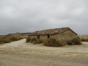 Cabane d'Agirre, Bardenas