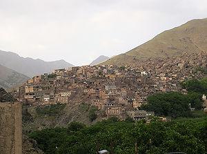 Amred, Maroc, Atlas