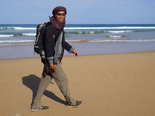 Saïd HMID, Essaouira, randonnée, Sidi kaouki, marche, océan