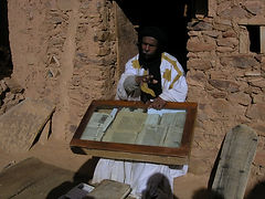 Chinguetti, Mauritanie, bibliothèque, Adrar, Ahmed Mahmoud